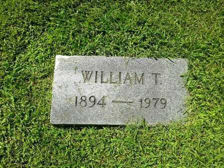 JOHNSON, WILLIAM T - Rowan County, Kentucky | WILLIAM T JOHNSON - Kentucky Gravestone Photos