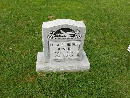 ELDRIDGE KISER, LULA - Rowan County, Kentucky | LULA ELDRIDGE KISER - Kentucky Gravestone Photos