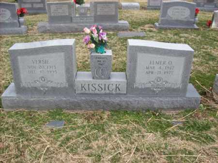 KISSICK, VERSIE - Rowan County, Kentucky | VERSIE KISSICK - Kentucky Gravestone Photos
