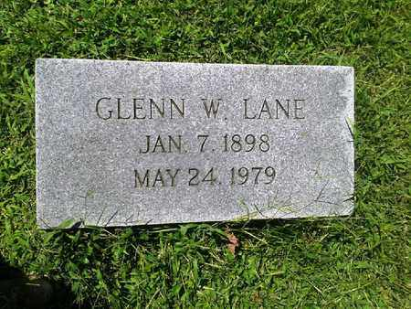 LANE, GLENN W - Rowan County, Kentucky | GLENN W LANE - Kentucky Gravestone Photos