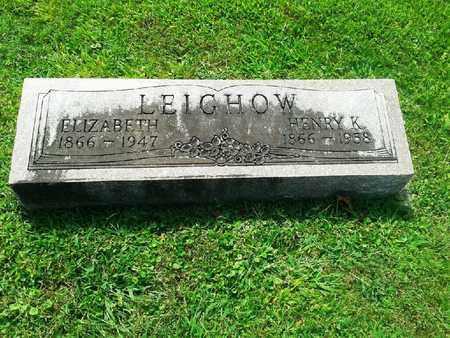 LEIGHOW, ELIIZABETH - Rowan County, Kentucky | ELIIZABETH LEIGHOW - Kentucky Gravestone Photos