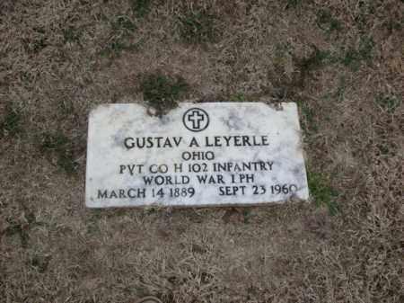 LEYERLE (VETERAN WWI), GUSTAV A - Rowan County, Kentucky | GUSTAV A LEYERLE (VETERAN WWI) - Kentucky Gravestone Photos