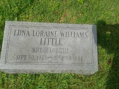 WILLIAMS LITTLE (CLOSEUP), EDNA LORAINE - Rowan County, Kentucky | EDNA LORAINE WILLIAMS LITTLE (CLOSEUP) - Kentucky Gravestone Photos
