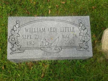 "LITTLE (CLOSEUP), WILLIAM ""ED"" - Rowan County, Kentucky | WILLIAM ""ED"" LITTLE (CLOSEUP) - Kentucky Gravestone Photos"
