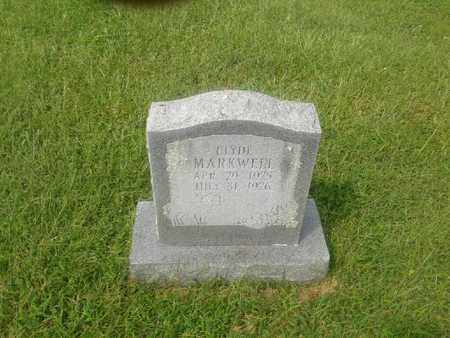 MARKWELL, CLYDE - Rowan County, Kentucky | CLYDE MARKWELL - Kentucky Gravestone Photos
