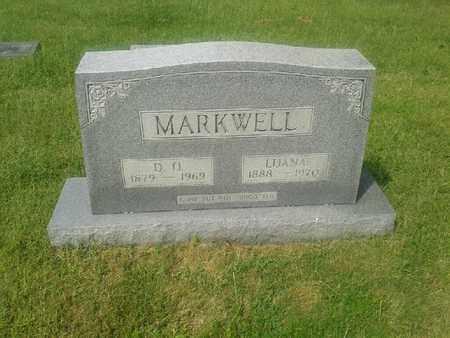 MARKWELL, LUANA - Rowan County, Kentucky   LUANA MARKWELL - Kentucky Gravestone Photos