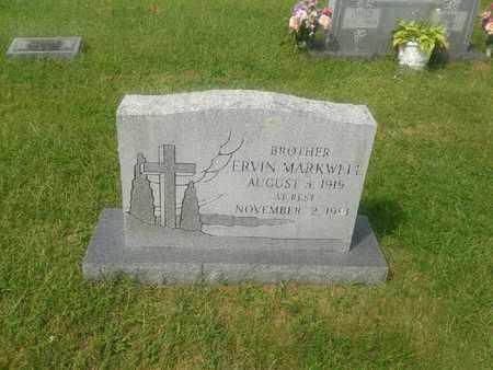 MARKWELL, ERVIN - Rowan County, Kentucky   ERVIN MARKWELL - Kentucky Gravestone Photos