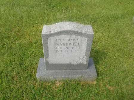 MARKWELL, LYDA MARIE - Rowan County, Kentucky | LYDA MARIE MARKWELL - Kentucky Gravestone Photos