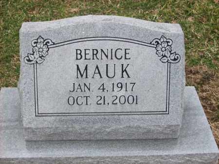 MAUK, BERNICE - Rowan County, Kentucky | BERNICE MAUK - Kentucky Gravestone Photos