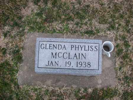 MCCLAIN, GLENDA PHYLISS - Rowan County, Kentucky   GLENDA PHYLISS MCCLAIN - Kentucky Gravestone Photos