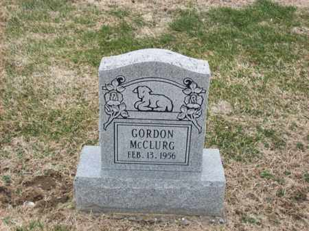 MCCLURG, GORDON - Rowan County, Kentucky | GORDON MCCLURG - Kentucky Gravestone Photos
