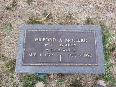 MCCLURG (VETERAN WWII), WILFORD A - Rowan County, Kentucky | WILFORD A MCCLURG (VETERAN WWII) - Kentucky Gravestone Photos