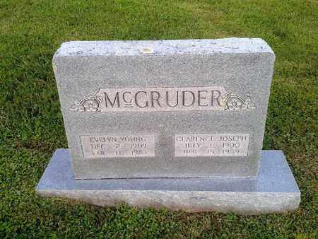 MCGRUDER, CLARENCE JOSEPH - Rowan County, Kentucky | CLARENCE JOSEPH MCGRUDER - Kentucky Gravestone Photos
