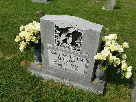 "MOLTON, JAMES DAVID ""JIM"" - Rowan County, Kentucky   JAMES DAVID ""JIM"" MOLTON - Kentucky Gravestone Photos"
