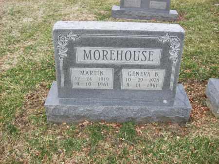 MOREHOUSE, GENEVA B - Rowan County, Kentucky   GENEVA B MOREHOUSE - Kentucky Gravestone Photos