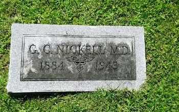 NICKELL, MD, G C - Rowan County, Kentucky | G C NICKELL, MD - Kentucky Gravestone Photos