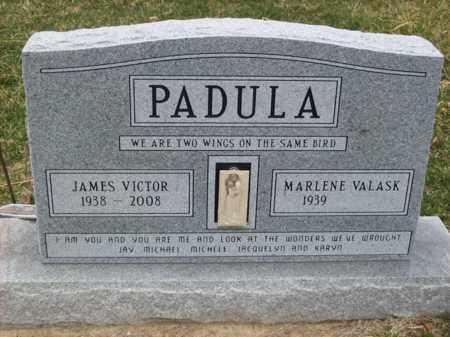 PADULA, JAMES VICTOR - Rowan County, Kentucky   JAMES VICTOR PADULA - Kentucky Gravestone Photos
