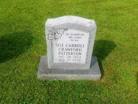 PATTERSON, SUE CARROLL - Rowan County, Kentucky | SUE CARROLL PATTERSON - Kentucky Gravestone Photos