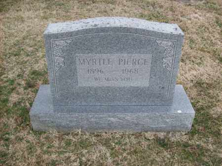 PIERCE, MYRTLE - Rowan County, Kentucky | MYRTLE PIERCE - Kentucky Gravestone Photos