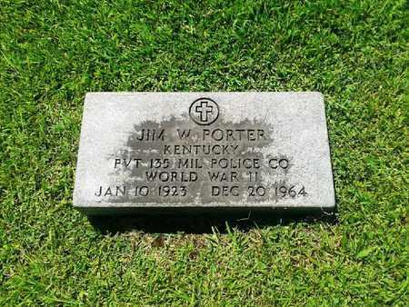 PORTER (VETERAN WWII), JIM W - Rowan County, Kentucky | JIM W PORTER (VETERAN WWII) - Kentucky Gravestone Photos