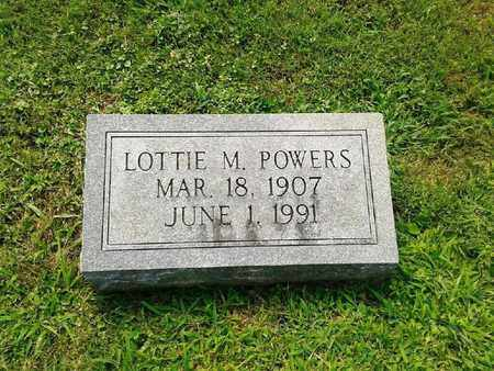 POWERS, LOTTIE M - Rowan County, Kentucky | LOTTIE M POWERS - Kentucky Gravestone Photos