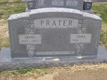 PRATER, EDNA - Rowan County, Kentucky | EDNA PRATER - Kentucky Gravestone Photos