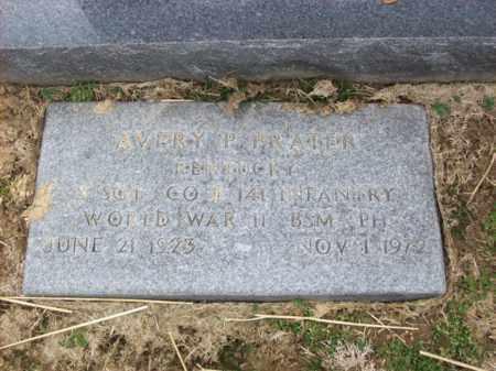 PRATER (VETERAN WWII), AVERY - Rowan County, Kentucky | AVERY PRATER (VETERAN WWII) - Kentucky Gravestone Photos