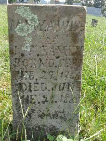 RAMEY, MARY A - Rowan County, Kentucky | MARY A RAMEY - Kentucky Gravestone Photos