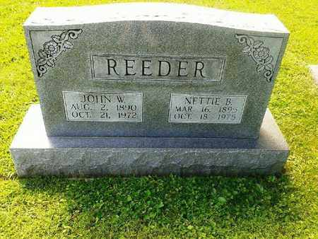 REEDER, NELLIE B - Rowan County, Kentucky | NELLIE B REEDER - Kentucky Gravestone Photos