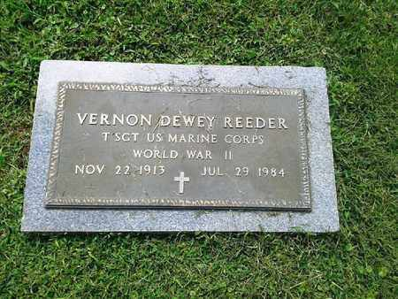 REEDER (VETERAN WWII), VERNON DEWEY - Rowan County, Kentucky | VERNON DEWEY REEDER (VETERAN WWII) - Kentucky Gravestone Photos