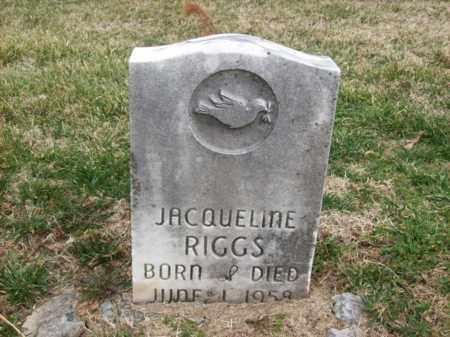 RIGGS, JACQUELINE - Rowan County, Kentucky | JACQUELINE RIGGS - Kentucky Gravestone Photos