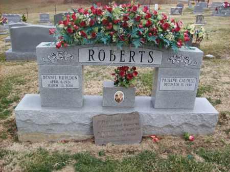 ROBERTS, BENNIE HURLDON - Rowan County, Kentucky | BENNIE HURLDON ROBERTS - Kentucky Gravestone Photos