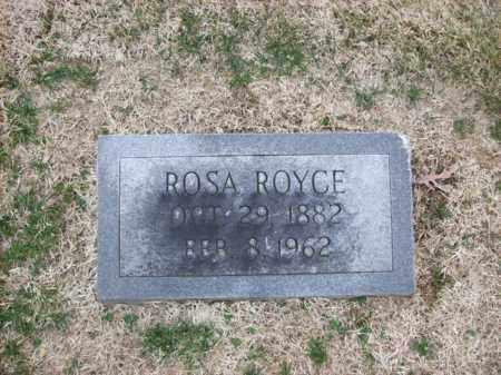 ROYCE, ROSA - Rowan County, Kentucky | ROSA ROYCE - Kentucky Gravestone Photos