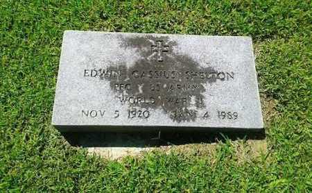 SHELTON (VETERAN WWII), EDWIN CASSIUS - Rowan County, Kentucky   EDWIN CASSIUS SHELTON (VETERAN WWII) - Kentucky Gravestone Photos