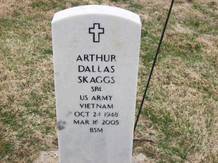 SKAGGS (VETERAN VIET), ARTHUR DALLAS - Rowan County, Kentucky | ARTHUR DALLAS SKAGGS (VETERAN VIET) - Kentucky Gravestone Photos