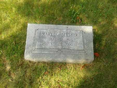 SLUSHER, MARY G - Rowan County, Kentucky | MARY G SLUSHER - Kentucky Gravestone Photos