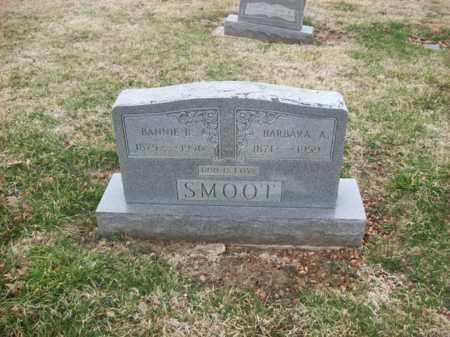 SMOOT, BANNIE B - Rowan County, Kentucky | BANNIE B SMOOT - Kentucky Gravestone Photos