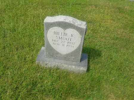 SMOOT, BILLIE K - Rowan County, Kentucky | BILLIE K SMOOT - Kentucky Gravestone Photos