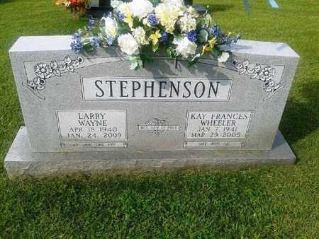 STEPHENSON, LARRY WAYNE - Rowan County, Kentucky | LARRY WAYNE STEPHENSON - Kentucky Gravestone Photos