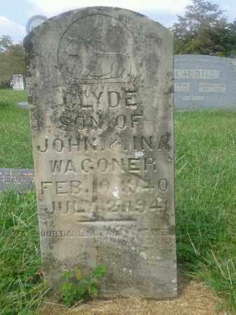 WAGONER, CLYDE - Rowan County, Kentucky   CLYDE WAGONER - Kentucky Gravestone Photos