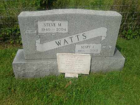 WATTS, MARY L - Rowan County, Kentucky | MARY L WATTS - Kentucky Gravestone Photos