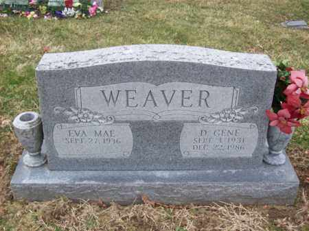 WEAVER, D GENE - Rowan County, Kentucky | D GENE WEAVER - Kentucky Gravestone Photos