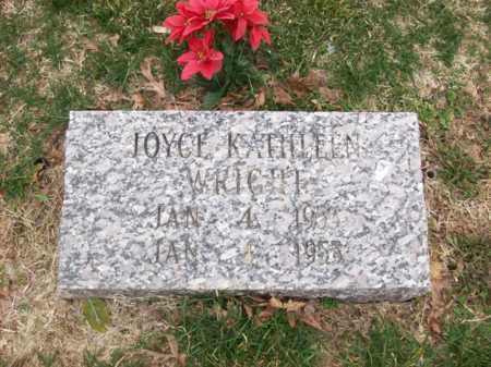 WRIGHT, JOYCE KATHLEEN - Rowan County, Kentucky | JOYCE KATHLEEN WRIGHT - Kentucky Gravestone Photos