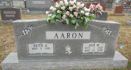 MCFALL AARON, ADA M - Russell County, Kentucky | ADA M MCFALL AARON - Kentucky Gravestone Photos