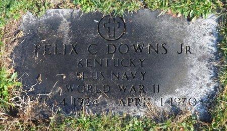 DOWNS, FELIX C. JR. - Shelby County, Kentucky   FELIX C. JR. DOWNS - Kentucky Gravestone Photos