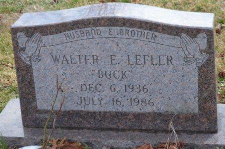 "LEFLER, WALTER E. ""BUCK"" - Shelby County, Kentucky | WALTER E. ""BUCK"" LEFLER - Kentucky Gravestone Photos"
