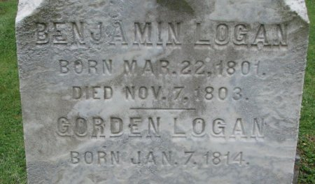 LOGAN, BENJAMIN (CLOSE UP) - Shelby County, Kentucky | BENJAMIN (CLOSE UP) LOGAN - Kentucky Gravestone Photos