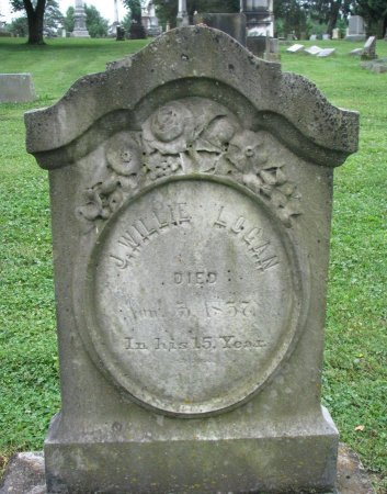 LOGAN, J. WILLIE - Shelby County, Kentucky | J. WILLIE LOGAN - Kentucky Gravestone Photos