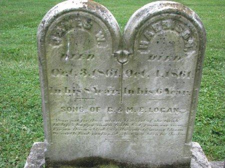 LOGAN, JAMES W. - Shelby County, Kentucky | JAMES W. LOGAN - Kentucky Gravestone Photos