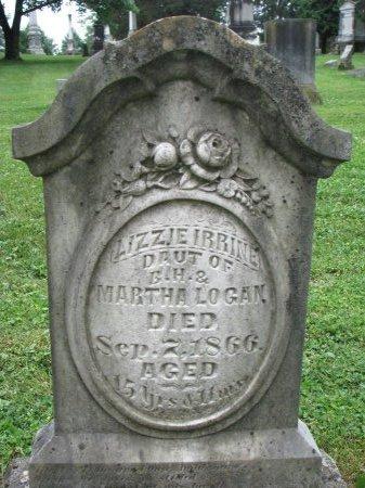 LOGAN, LIZZIE IRRINE - Shelby County, Kentucky | LIZZIE IRRINE LOGAN - Kentucky Gravestone Photos